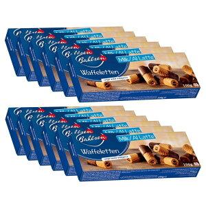 バールセン ウエハーロールミルク100g×12箱セット ドイツのお菓子 ドイツ食品 輸入菓子 海外お菓子 海外おかし ドイツの人気商品 ドイツの定番 ドイツのチョコウエハース ドイツのチョコ
