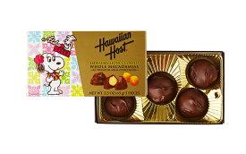 スヌーピー ベル ハワイアンハニーマカデミアナッツチョコレート65g