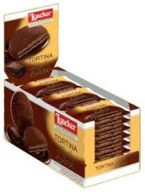 ローカー loacker トルティーナ トリプルダーク 1P(21g)×24袋入り ローカー ウエハース 美味しいもの チョコレート チョコ イタリア イタリア チョコレート ヨーロッパ おかし ヘーゼルナッツチョコレート