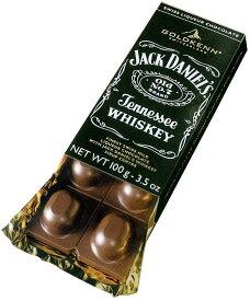 【期間限定・消費期限2020.12.4】 ゴールドケン GOLDKENN ジャックダニエル テネシーウイスキー 100g チョコレートバースイスのチョコレート ジャックダニエル