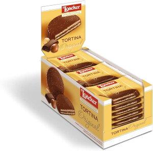 ローカー トルティーナオリジナル1p(21g)×24個 ローカー ウエハース 美味しいもの チョコレート チョコ イタリア イタリア チョコレート ヨーロッパ おかし ヘーゼルナッツチョコレート