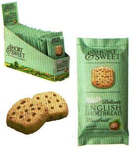 アーティザン ARTISAN ショートブレッド ヘーゼルナッツ 25g×12袋 輸入菓子 輸入クッキー イギリスのクッキー かわいいお菓子 海外クッキー 海外菓子 プレゼント 贈り物 ヨーロッパのクッキー