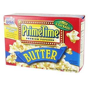 プライムタイム マイクロウェーブ ポップコーン  バター味3P 297g×12箱 輸入食品 輸入ポップコーン アメリカのポップコーン 輸入菓子 海外のポップコーン 海外菓子