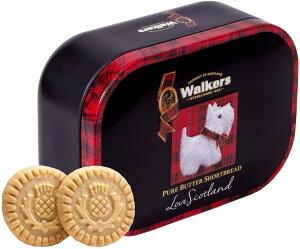 【送料無料】ウォーカー キープセイクスコッティドッグ 缶 #1666 130g 輸入菓子 缶 輸入菓子 輸入クッキー ショートブレッド walkers フィンガー ウォーカー ショートブレッド イギリス お菓子