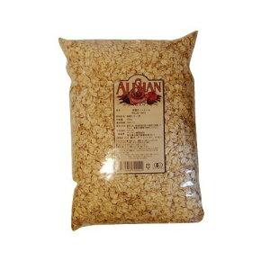 アリサン オートミール 1kg オーツ麦 業務用 無糖 ノンシュガー おやつ 朝食 ギフト 無添加 製菓 製パン
