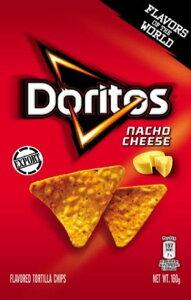 ドリトス ナチョチーズ味160g×12 ナチョス スナック菓子 お菓子 輸入菓子 とうもろこし フリトレー ドリトス コーンチップス