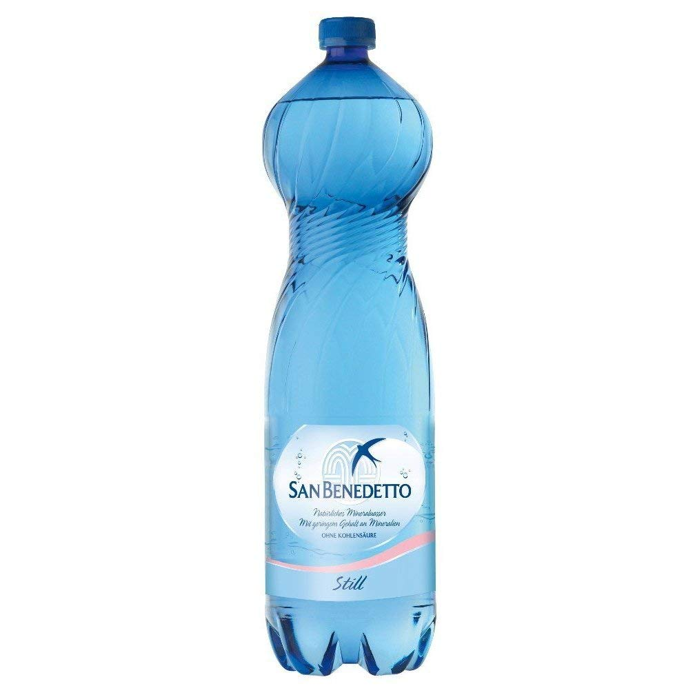 サンベネデット ナチュラル(ガスなし) 1500ml×12本(正規輸入品) イタリアの名水