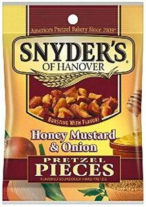 スナイダーズ ハニー マスタード オニオン 56g プレッツェル アメリカのスナック アメリカのお菓子 輸入スナック アメリカのプレッツェル