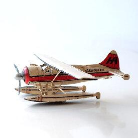 アンティーク レトロ 水上飛行機 置物 おしゃれ ブリキのおもちゃ アイアン 鉄 アメリカン雑貨 アメリカ雑貨 インテリアオブジェ アンティーク風 雑貨 かっこいい 置物 小物 男性 誕生日プレゼント アンティーク調 置物 American Nostalgia シー・プレーン