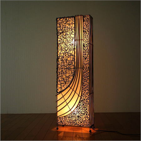 Asian Lighting Stand Light Floor Stand Lighting Floor Litratambambeu Long  Japanese Style Modern Living Fashionable Interior Floor Lamp Rattan Corner  Lamp A