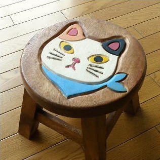 Cute round natural wood chairs wooden stool cat gadgets solid material miniature childrenu0027s chair round Chair flower Woods tools Asian children wooden ... & hakusan | Rakuten Global Market: Cute round natural wood chairs ... islam-shia.org