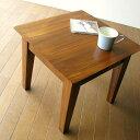 コンパクト テーブル サイドテーブル コーヒー リビング パソコン アジアン チークコンパクトテーブル