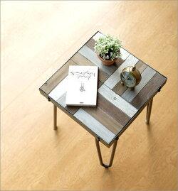 ウッドワークサイドテーブル