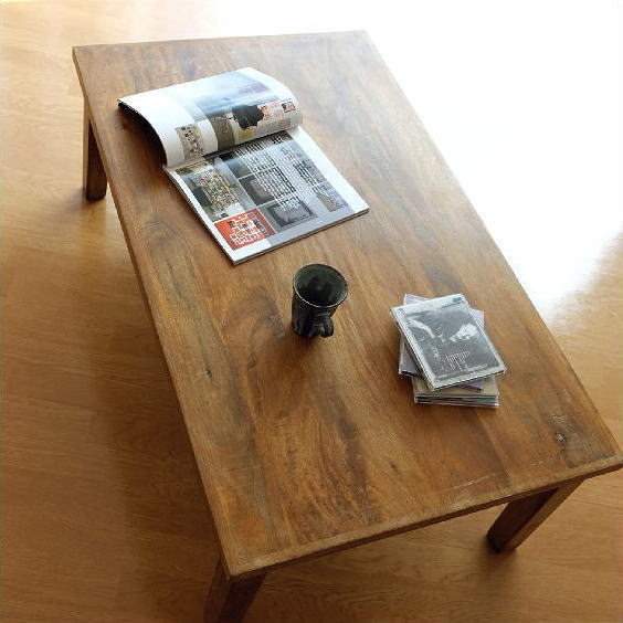 ローテーブル 天然木製 無垢材 リビングテーブル ウッドテーブル センターテーブル コーヒーテーブル アンティーク ローテーブル リビングテーブル レトロ アンティーク センターテーブル コーヒーテーブル 天然木 完成品 送料無料 マンゴーウッド ローテーブル