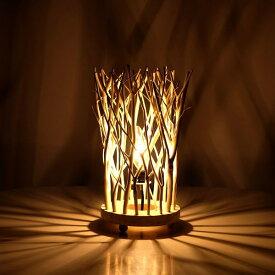 インテリアランプ 照明 卓上 枝 自然木 おしゃれ 照明スタンド ナチュラルブランチランプ