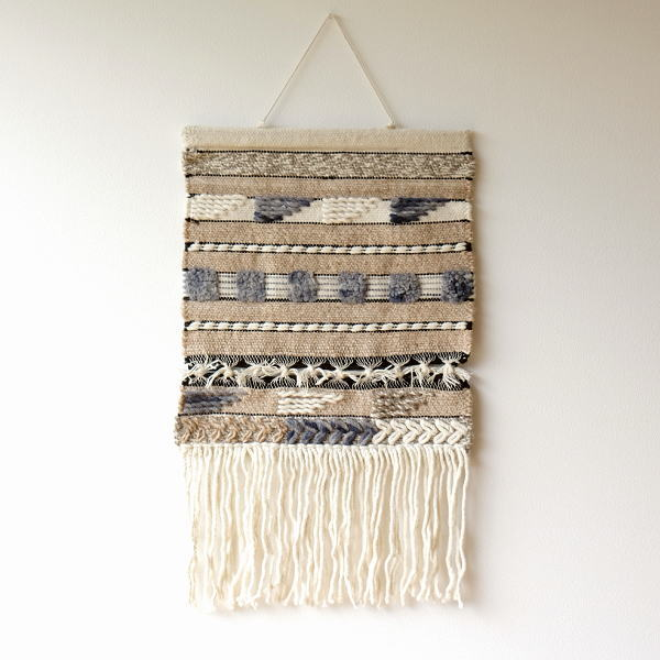 タペストリー おしゃれ 壁掛け 北欧 モダン 和風 和モダン ナチュラル 布 刺繍 吊り下げ ウォールタペストリーA