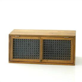 キャビネット 木製 マグネット スパイスラック 調味料入れ 調味料ラック ガラス シンプル おしゃれ カントリー ナチュラル レトロ 卓上 小物入れ 仕切り 収納ボックス 扉収納 インテリア ウッドスパイスキャビネット