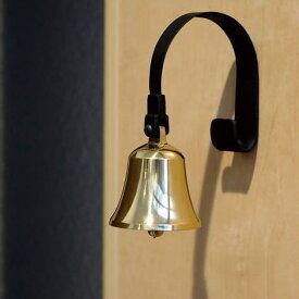 ドアベル 真鍮 おしゃれ インテリア かわいい 玄関 呼び鈴 店舗 アイアン アンティーク モダン デザイン 真鍮のドアベル マグネットタイプ