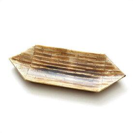 トレー 卓上 おしゃれ ペントレー アクセサリートレイ ナチュラル 自然素材 天然素材 水牛の角 シンプル モダン アンティーク レトロ インテリア お皿 プレート 小物入れ バッファローボーントレイC