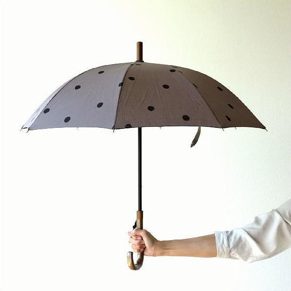 日傘 日本製 UVカット コットン100% 傘 かさ カサ 和風 和柄 モダン 大人 おしゃれ コットンパラソル 小水玉B