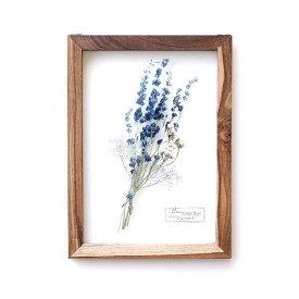 アートフレーム ナチュラル おしゃれ アートパネル モダン インテリア 壁飾り 植物 グリーン ガラス 木製 木枠 ウォールデコ フラワープリントのガラスフレームB