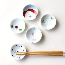 陶器の珍味箸置A