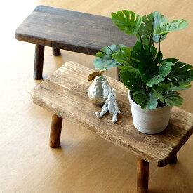 花台 フラワースタンド 木製 おしゃれ ナチュラル 天然木 桐 花置き テーブル ベンチ デザイン 鉢スタンド 鉢置き 鉢台 観葉植物スタンド | ウッドスクエアスタンドL 2カラー