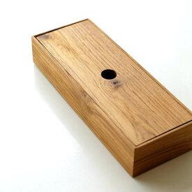 カトラリーケース 蓋付き 木製 天然木 チーク 食卓 卓上 カフェ フタつき チークウッドカトラリーケース