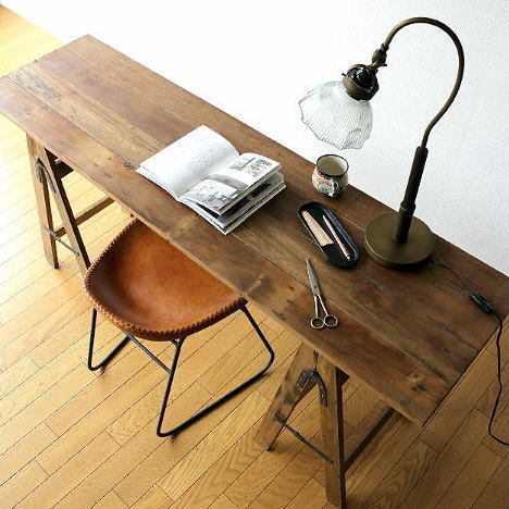 Folding Table Work Desk Computer Desk Wood Shabby Chic Retro Furniture  Antique Slim Long Display Table Furniture Folding Work Table Dressing Width  150 X 42 ...