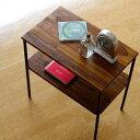 サイドテーブル アイアン シェルフ シンプル アンティーク ナチュラル ソファー テーブル コーヒー シーシャムサイドテーブル