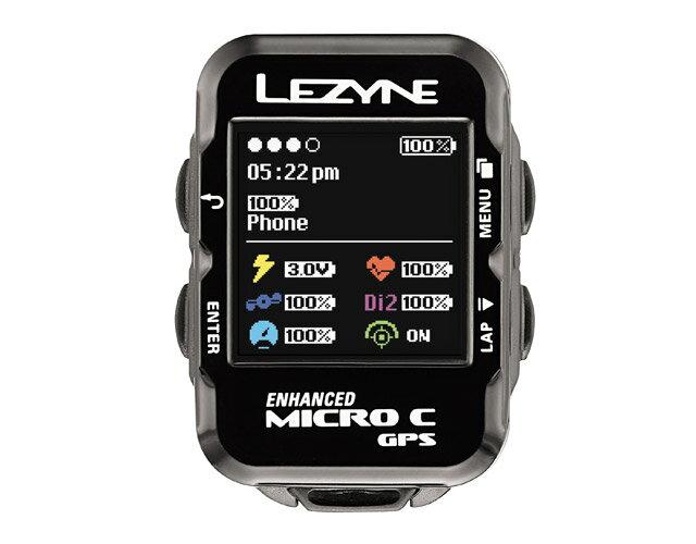 MICRO COLOR GPS(マイクロカラーGPS)【わずか29g 超コンパクト・カラーディスプレー採用GPS内蔵サイクルコンピューター】LEZYNE(レザイン)スピードメーター・サイクルコンピュータ