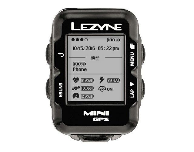 MINI GPS(ミニGPS)【Bluetooth smart対応コンパクトGPS内蔵サイクルコンピューター】LEZYNE(レザイン)スピードメーター・サイクルコンピュータ