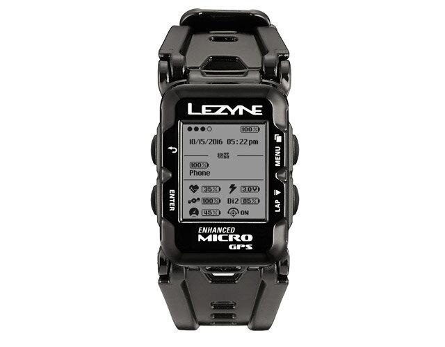 MICRO GPS WATCH(マイクロGPSウォッチ)【マルチアスリートに向けたウェアラブルデバイス】LEZYNE(レザイン)スピードメーター・サイクルコンピュータ