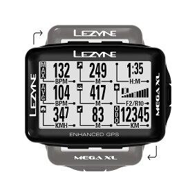 【キャッシュレス還元5%対象】MEGA XL GPS(メガXL GPS)【大画面でコンパクト・最長48時間駆動GPS内蔵サイクルコンピューター】LEZYNE(レザイン)スピードメーター・サイクルコンピュータ