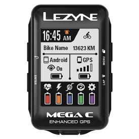 【キャッシュレス還元5%対象】MEGA COLOR GPS(メガカラー GPS)【高彩度カラー液晶採用GPS内蔵サイクルコンピューター】LEZYNE(レザイン)スピードメーター・サイクルコンピュータ