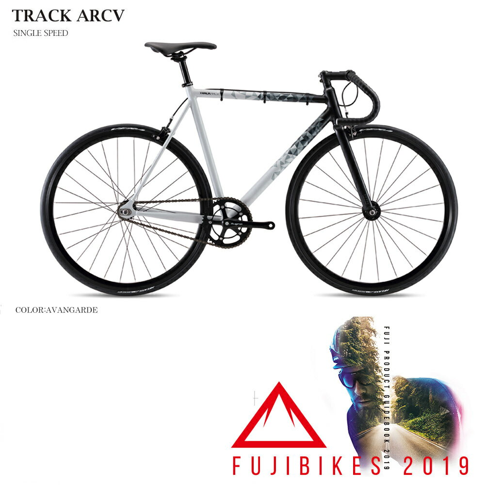 【2019導入キャンペーン/ポイント5倍(9/18 15時-9/26 2時)】【2019モデル】FUJI(フジ)TRACK ARCV(トラックARCV)シングル・ピストバイク【送料プランC】 【完全組立】