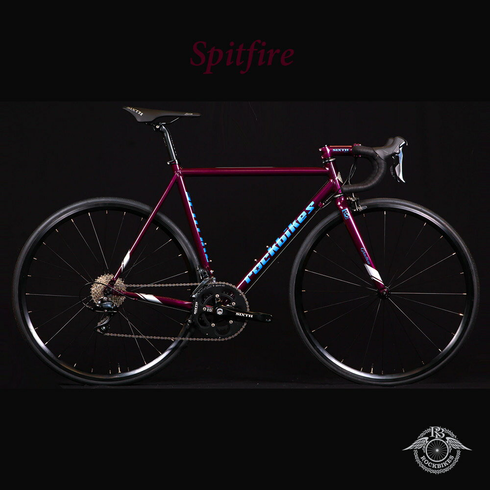 SPITFIRE(スピットファイヤー)【COLOR:AMETHYST】ROCKBIKES(ロックバイクス)アルミロードバイク【送料プランC】 【完全組立】【店頭受取対応商品】