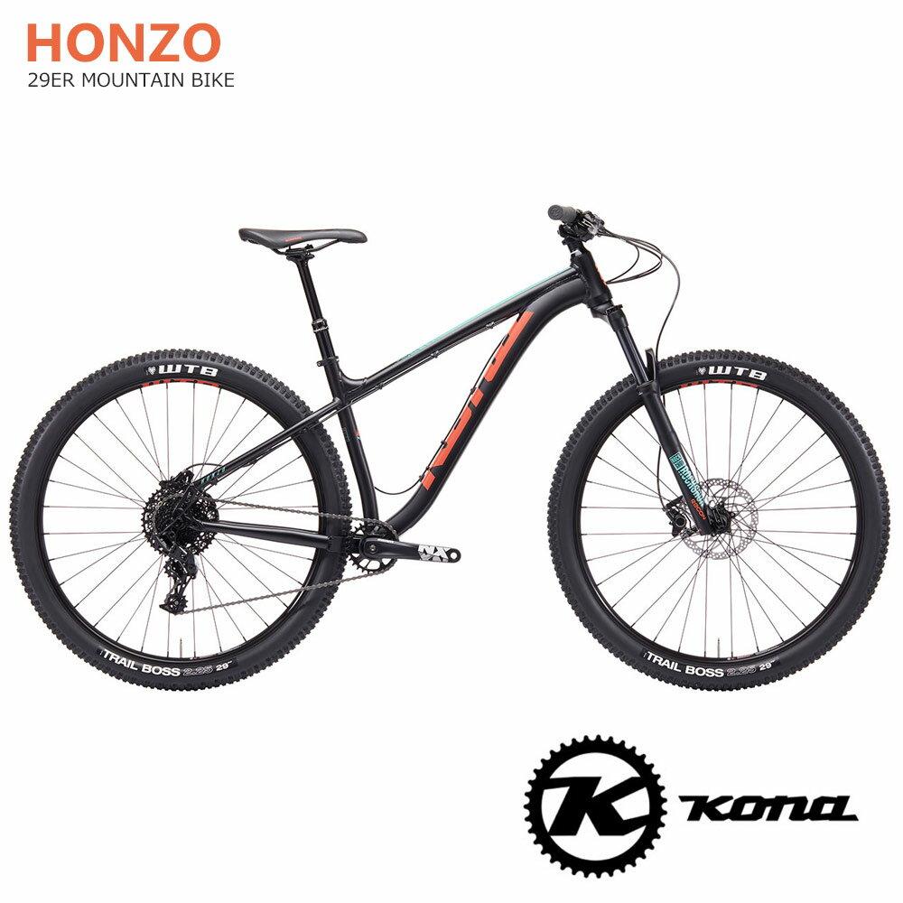 2019モデルKONA(コナ)HONZO AL(ホンゾAL)29ER MTB【送料プランC】 【完全組立】