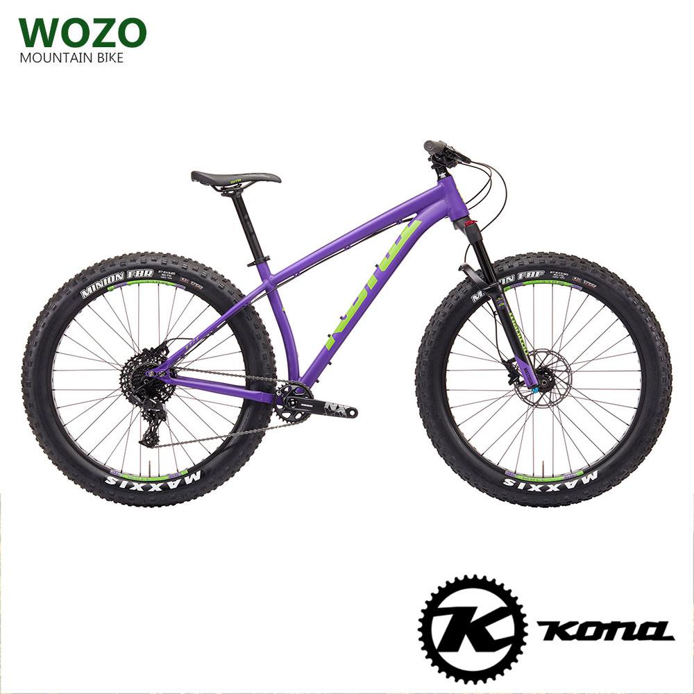 2019モデルKONA(コナ)WOZO(ウォーゾー)ファットバイク【送料プランA】 【完全組立】【店頭受取対応商品】