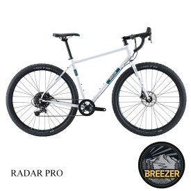 【1都3県送料2700円より(注文後修正)】BREEZER(ブリーザー)RADAR PRO(ラダープロ)グラベルロード・シクロクロスバイク【送料プランC】 【完全組立】