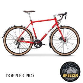 【関東/近畿は地方で送料異なる(注文後修正)】2020モデル/BREEZER(ブリーザー)DOPPLER PRO(ドップラープロ)クロスバイク・グラベルロード・シクロクロスバイク【送料プランC】