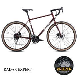 【1都3県送料2700円より(注文後修正)】2021モデル/BREEZER(ブリーザー)RADAR EXPERT(ラダーエキスパート)グラベルロード・シクロクロスバイク【送料プランC】 【完全組立】