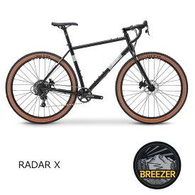 【1都3県送料2700円より(注文後修正)】RADAR X(ラダーエックス)2021モデル/BREEZER(ブリーザー)グラベルロード・シクロクロスバイク【送料プランC】 【完全組立】