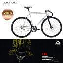 【FUJIセール特価!】【2018モデル】FUJI(フジ)TRACK ARCV(トラックARCV)シングル・ピストバイク【送料プランB】 【完…