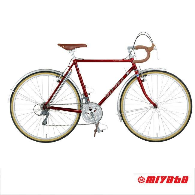 MIYATA SPORT(ミヤタスポーツ)EIGER(アイガー)クロモリツーリング・ランドナー【送料プランB】 【完全組立】【店頭受取対応商品】