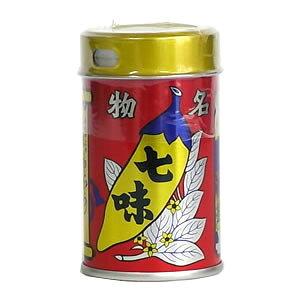 【八幡屋礒五郎】七味唐辛子/缶入り(14g)