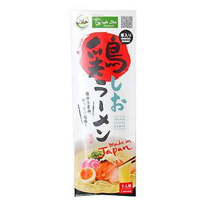 ハラル鶏ラーメン/塩味(お土産用・30個入ケース・お箸入り)|Halal Chicken Salt Ramen with Chopsticks 30pack(送料無料/Free Shipping)