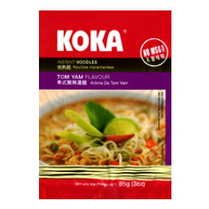 【ハラル認証】KOKA インスタント麺 トムヤム味(業務用/30個入/送料無料)【HALAL(ハラール)】
