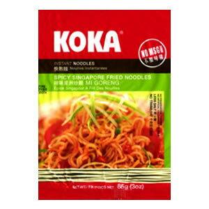 【ハラル認証】KOKA インスタント麺 スパイシーシンガポール・焼きそば味(業務用/30個入/送料無料)【HALAL(ハラール)】