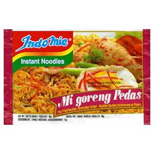 【ハラル認証】インドミー・ミーゴレンプダス(激辛タイプ・インスタント麺)(業務用/40袋入/送料無料)【HALAL(ハラール)】
